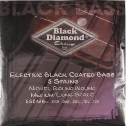 Juego Cuerda Bajo Black Diamond N550MB