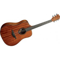 GUITARRA ACUSTICA LAG DREADNOUGHT DARK HONEY