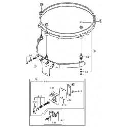 Sistema  Timbal  Aerio  TAMA MCM10