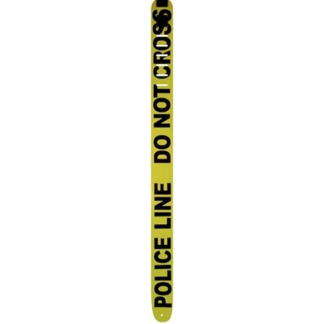 "CORREA GUITARRA POLICE LINE DO NOT CROSS 2.5"" PERRI´S"