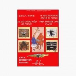 Pouillard Mi Segundo Año de Piano (LIBRO)