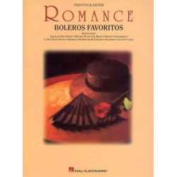 Romance Boleros Favoritos para guitarra y piano (LIBRO)
