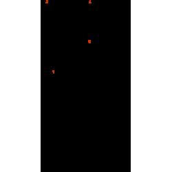 Perno Tuerca Tama HH35W211