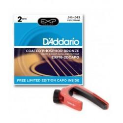 D'addario EXP-16-2D Capo set