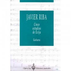 Cinco estudios di Écija Guitarra