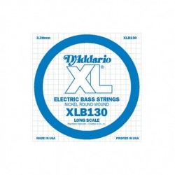 D'addario XLB130 Cuerda Bajo Nickel Long Scale