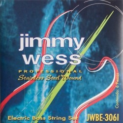 Jimmy Wess 306I 28/125 Jgo Set 6 Basss Strings Stainless