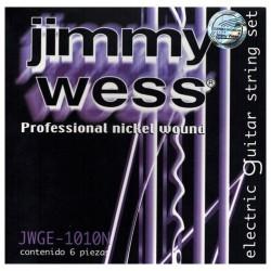 Jimmy Wess 1010N 010/46 Jgo Set Nickel