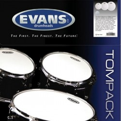 Evans ETPG1CTDR G1 Coated Rock Pack