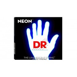 DR NWE9 Neon 9-42 Jgo Guit Elect. Luminescent white
