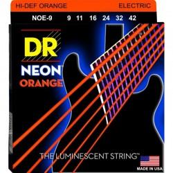 DR NOE9 Neon Orange 9-42 Jgo Elect.