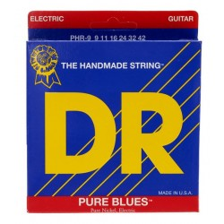 DR PHR9 9-42 Pure Blues Vintage puro nickel