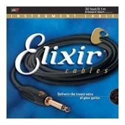 Elixir 92630 9m jack recto - jack codo cable