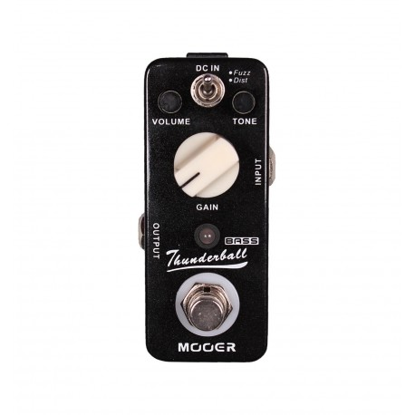 Mooer Thunderball Distortion pedal