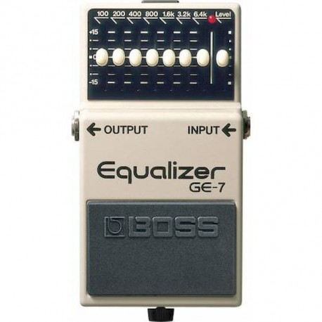Boss GE-7 Ecualizador Guitarra