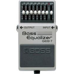 Boss GEB-7 Ecualizador Para Bajo
