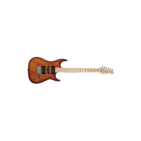 Godin FWCFLSUNMN Guitarra Eléctrica Freeway Classic Leaftop Diapasón Arce Sunburst B-Stock