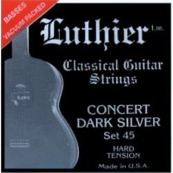 Luthier 45 Clásica set 45 Concert Dark Silver Juego