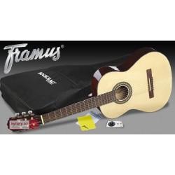 Framus IDEAL 4/4 Guitarra Clásica Con Funda, Afinador Y Gamuza B-Stock