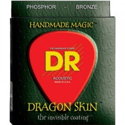 DR DSA10-2P Pack 2 Juegos Acústica Dragon Skin 10-48 Jgos