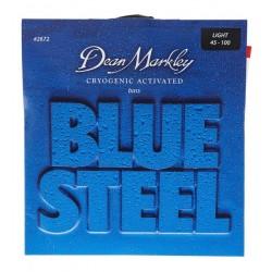 Dean Markley 2672 Bajo 4 cuerdas Blue Steel 45-100 Jgo