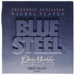 Dean Markley 2676A Bajo 4 cuerdas Blue Steel NPS 50-105 Jgo