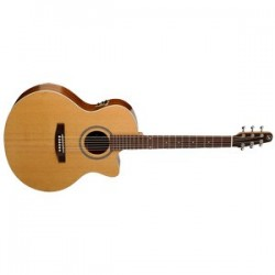 Seagull PMJCE Guitarra Electroacústica Serie Maritime Formato Mini Jumbo Cutaway