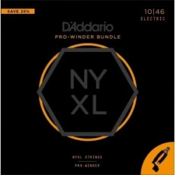 D'addario NYXL 10/46 jgo + pro winder manivela