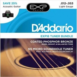 D'addario EXP16-CT15 pack jgo + turner