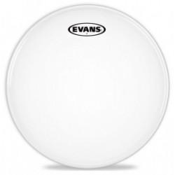 Evans Parche Caja 2 capas 13ST White