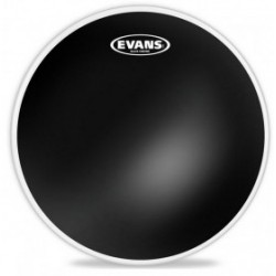 Evans Parche Caja 13'' Black Chrome