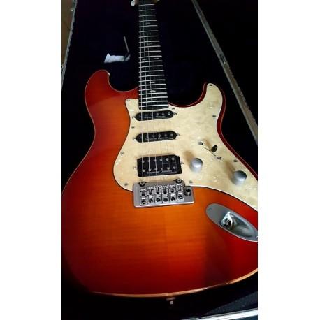 Lag Morgane Nashville, Honey Sunburst. Guitarra eléctrica