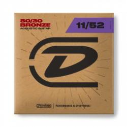 Dunlop DAB1152 Jgo 80/20 Bronze