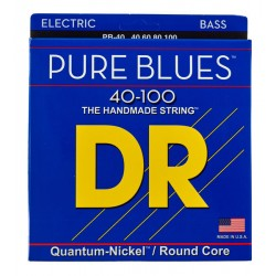 DR PB-40 Strings Pure Blues Bass Lite 40-100