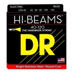 DR Bajo 4 cuerdas Hi-Beam 40-100