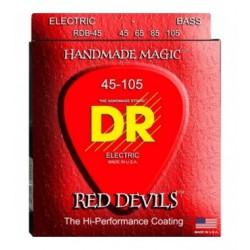 DR Bajo 4 cuerdas Red Devils 45-105