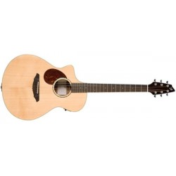 BREEDLOVE PASSPORT PLUS CONCIERTO NATURAL Previo con afinador