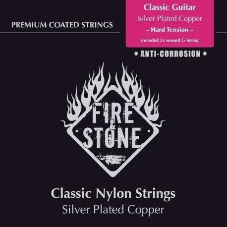 Fire&Stone Cuerda Guitarra Clasica Tension Alta