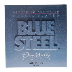 Dean Markley Bajo 4 cuerdas Blue Steel NPS 45-105