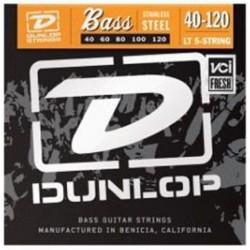 Dunlop Bajo 5 cuerdas Steel 40-120