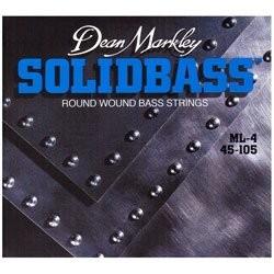 Dean Markley Bajo 4 cuerdas Solid Bass 45-105