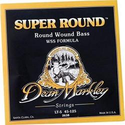 Dean Markley Bajo 5 cuerdas Super Round 45-125