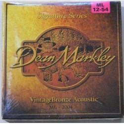 Dean Markley Acústica Vintage Bronze 12-54