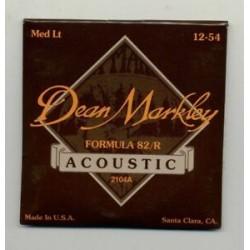 Dean Markley Acústica Formula 82/R 12-54