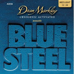 Dean Markley Acústica Blue Steel 12-54