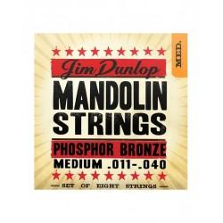 Dunlop Mandolina Fósforo Bronce 11-40